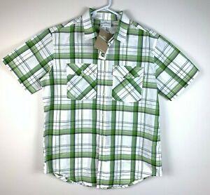 Kathmandu-Expedite-Premium-Short-Sleeve-Shirt-Men-039-s-Size-Medium-BNWT