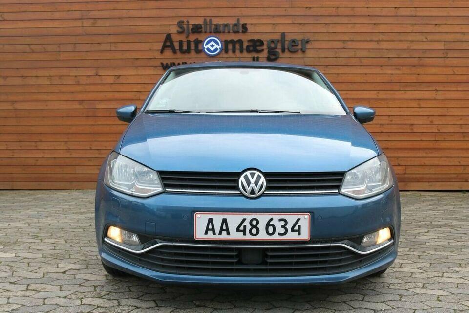 VW Polo 1,2 TSi 110 Highline DSG BMT Benzin aut. Automatgear