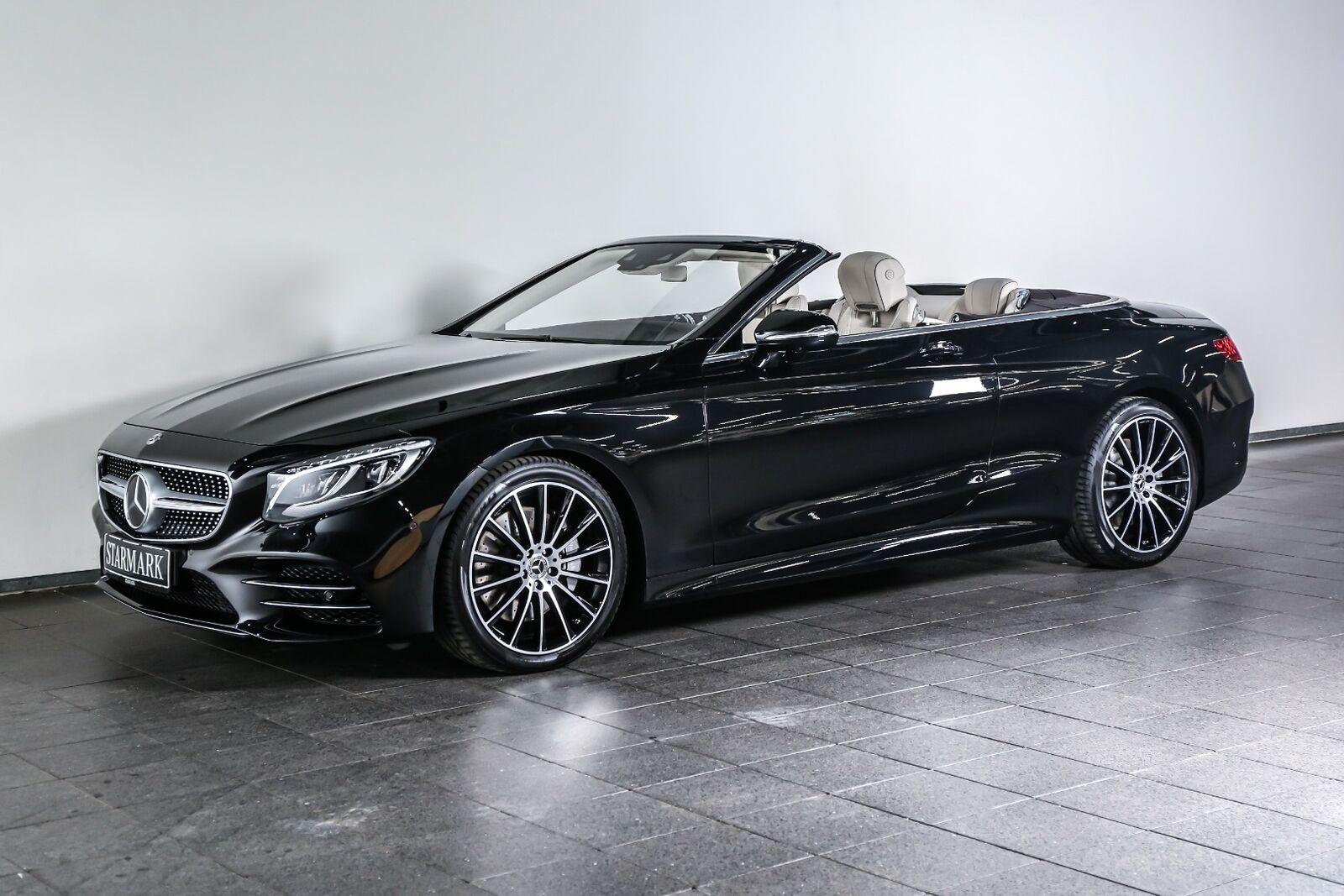 Mercedes-Benz S560 4,0 Cabriolet aut.