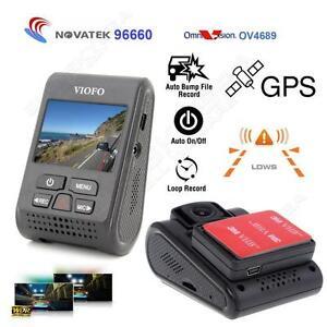 VIOFO Advanced A119 V2 Capacitor Novatek Car GPS Dash Camera 160degree wide