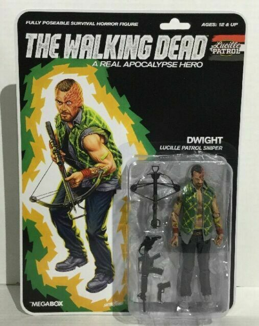 THE WALKING DEAD LUCILLE PATROL DWIGHT FIGURE MCFARLANE TOYS SKYBOUND NEW