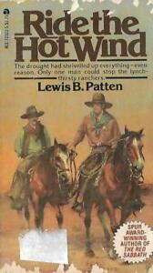 Ride-the-Hot-Wind-by-Lewis-B-Patten-1971-Paperback-an-Ace-Book-Western