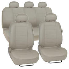 ProSyn Beige Leather Auto Seat Cover for Ford Fusion Full Set Car Cover