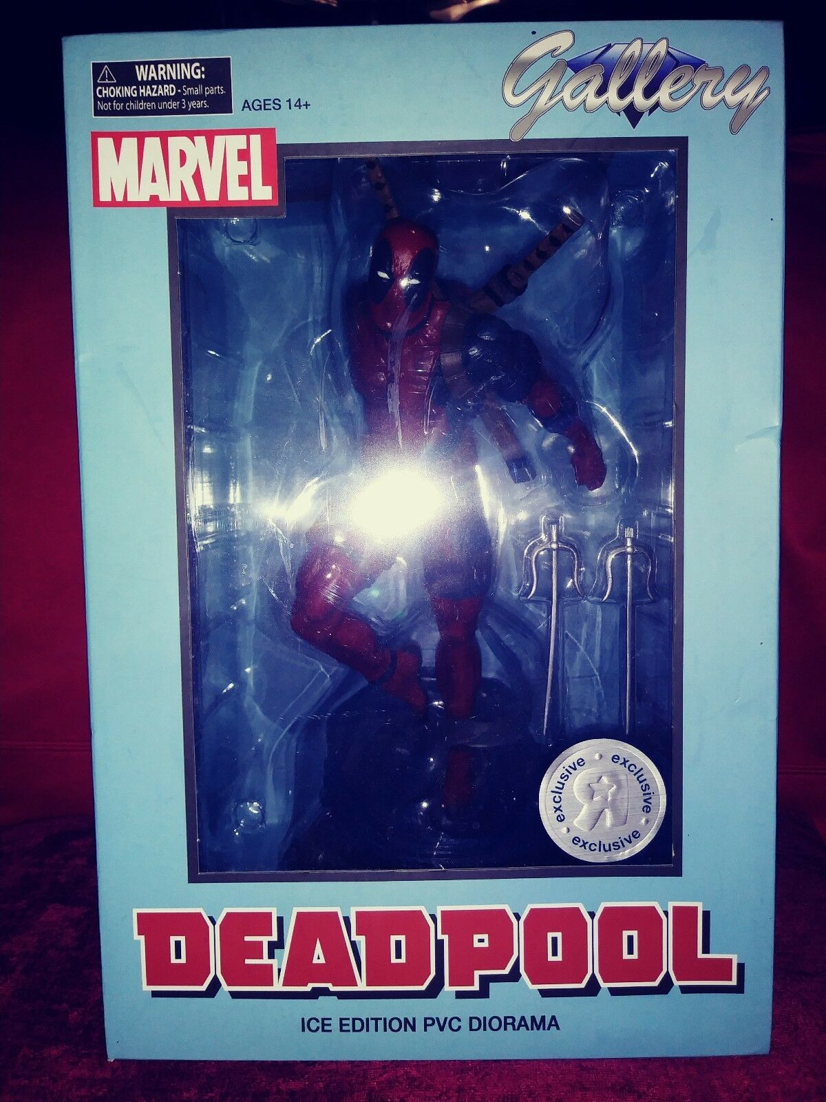 Marvel fr deadpool diamond gallery pvc - statue und eis edition sammlerstck