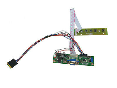 LCD Driver Controller Board Monitor Kit for 1366X768 LTA185AT02 HDMI+DVI+VGA