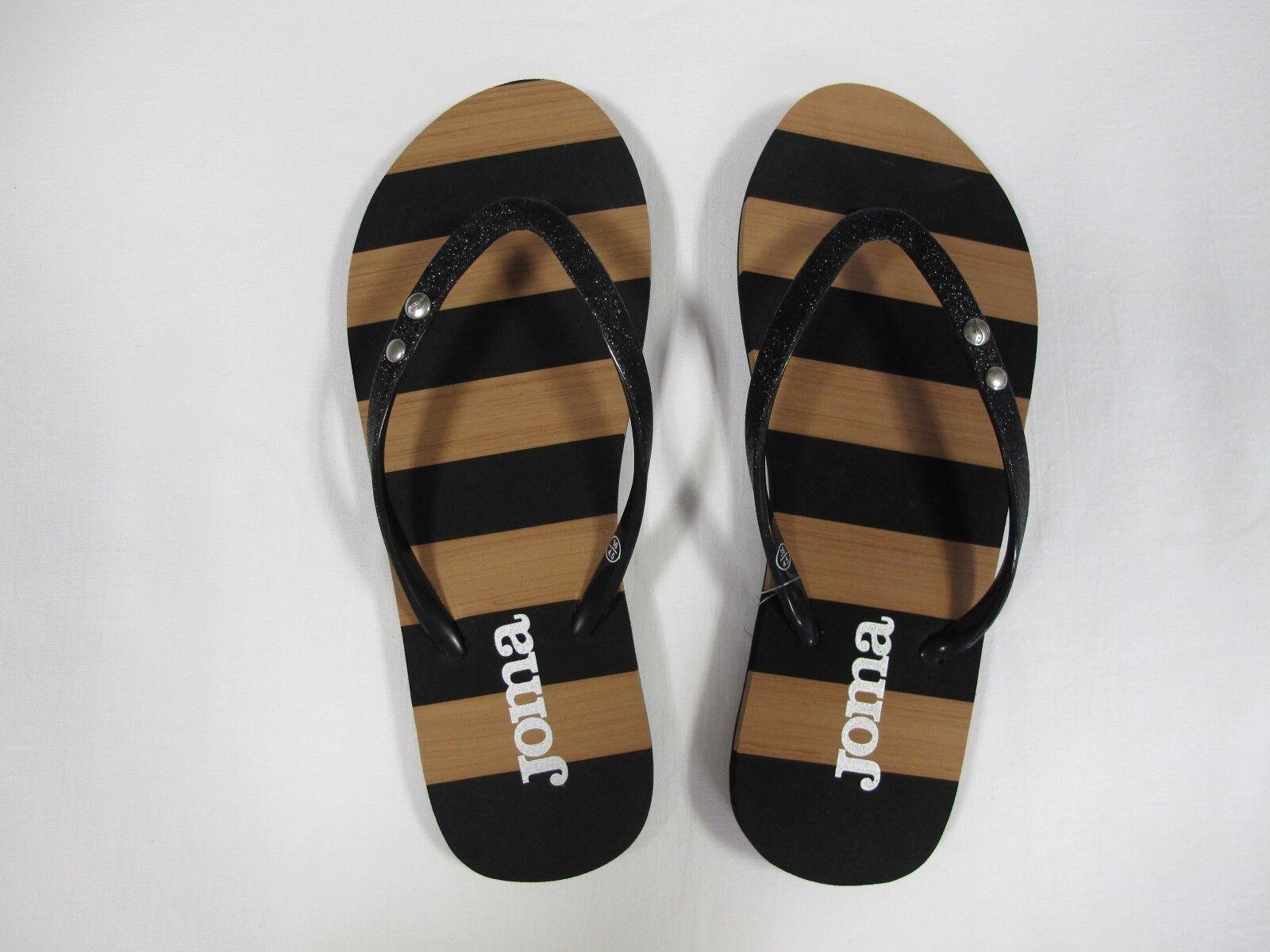 JOMA sandals womens flip flops S. COSTA LADY 701 BLACK summer 2017