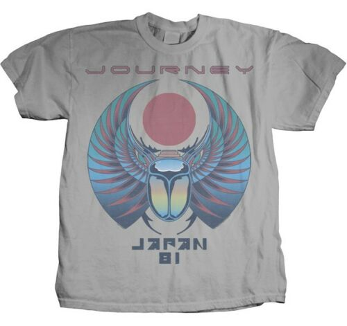 AUTHENTIC JOURNEY JAPAN 81 CLASSIC ROCK JAZZ PROGRESSIVE T TEE SHIRT S M L XL