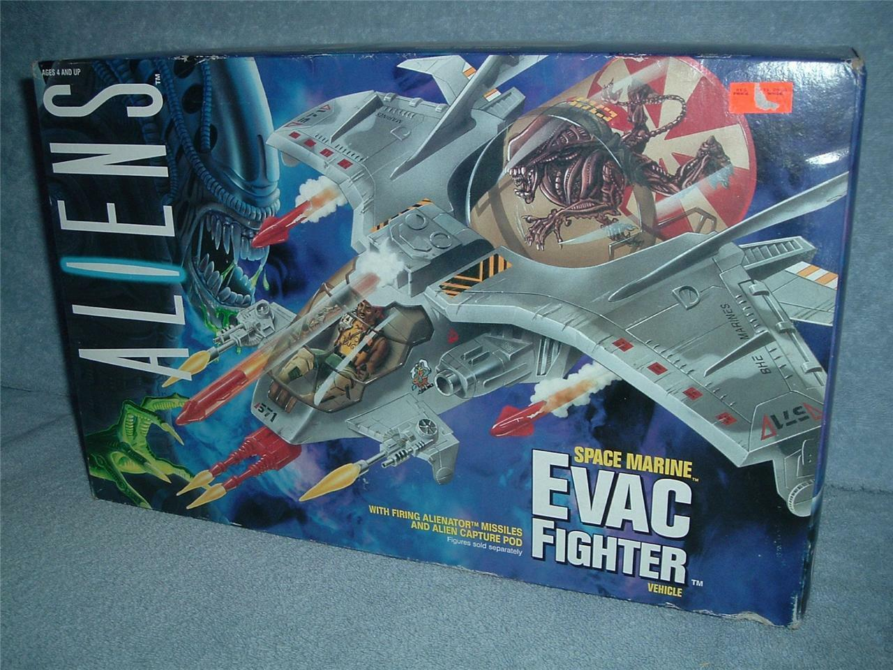 Space Marine EVAC Fighter ALIENS Vehicle Kenner 1992 Vintage Vintage Vintage New Sealed Box MISB ce6e44