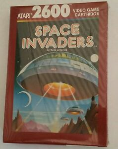 NEW-Factory-sealed-Space-invaders-Game-for-Atari-2600-PAL-Brown-BOX-NOT-FOR-USA