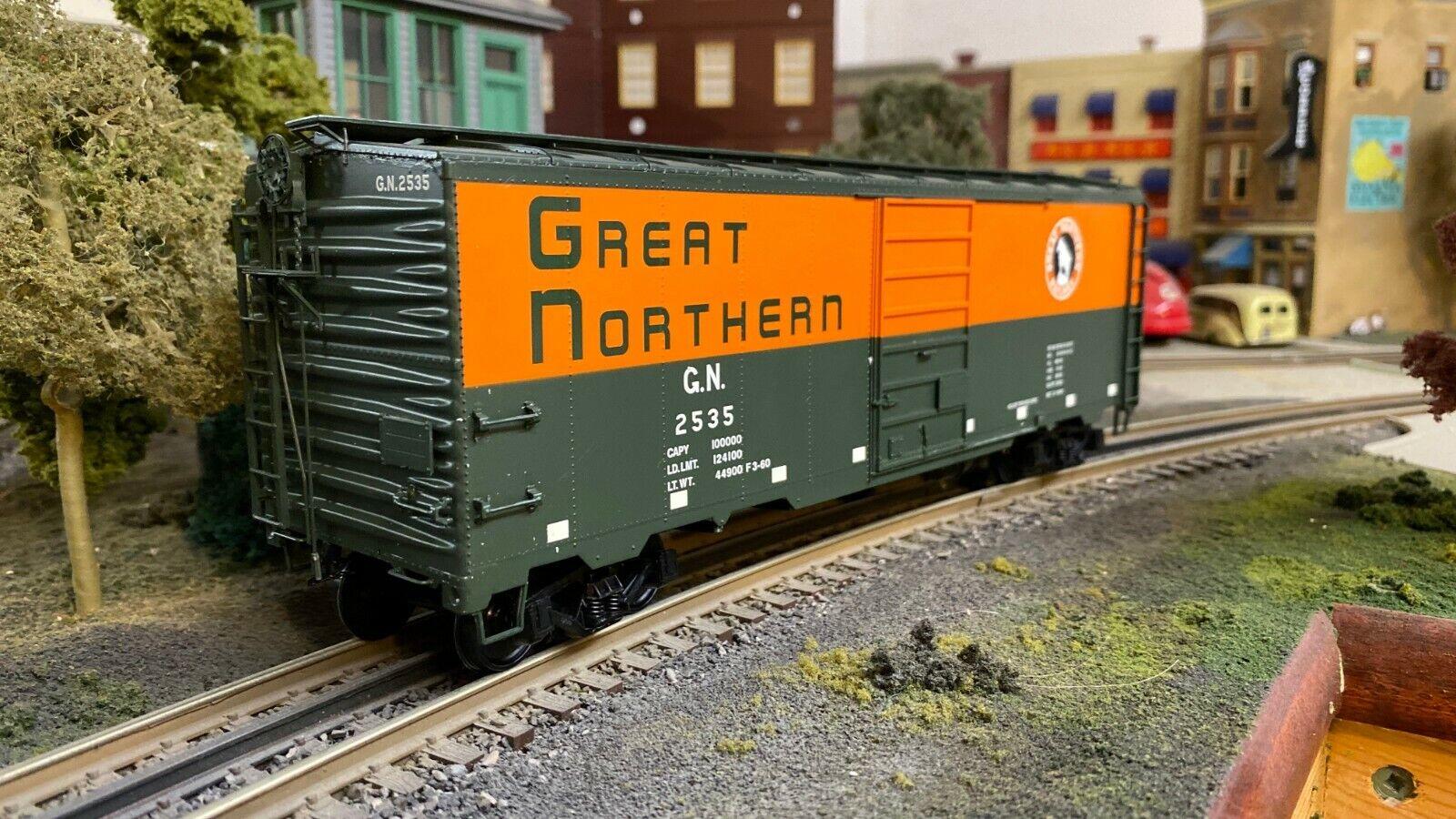 Intermountain Railway azienda 1937 AAR 40' GREAT Northern scatola auto o SCALA  2549