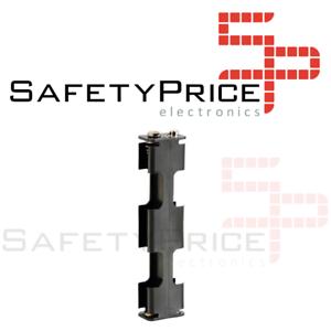 R6 Länge mit Clip 6V P014 Batteriehalter 4xAA