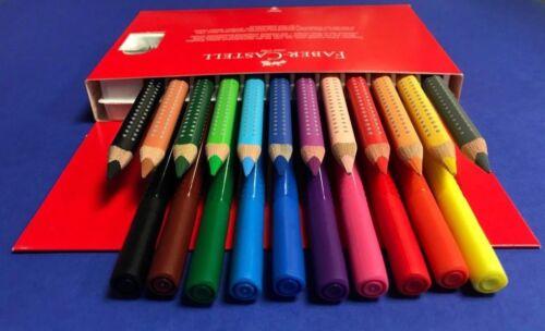 Faber Castell Jumbo Grip Combi Box 12 Buntstifte + 10 Filzstifte !Top Angebot !