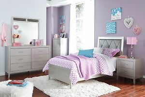 Image Is Loading Ashley Furniture Olivet Twin 7 Piece Bedroom Set
