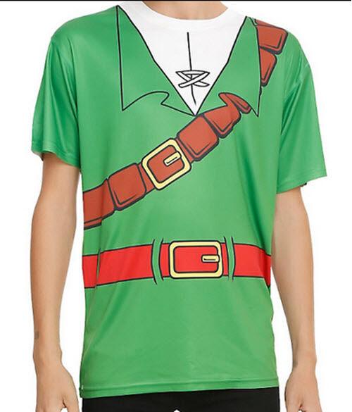 0363b96f3 Nintendo The Legend of Zelda Link Ocarina of Time 3d T-shirt Shirt Costume  Large for sale online | eBay