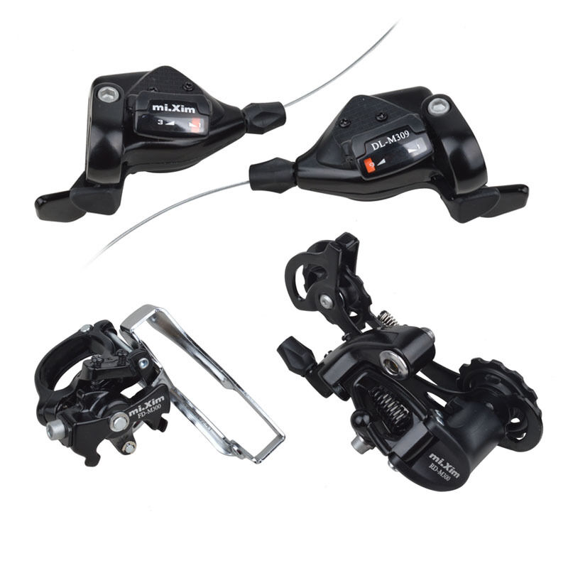 Mixim DL-M309 MTB Trip 3x9 Speed Bike Derailleurs Group Set  Shifter For Shimano  get the latest
