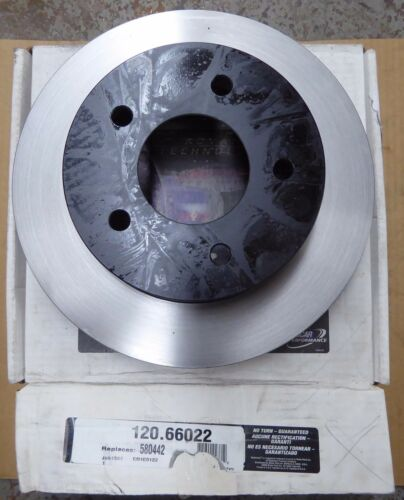 120.66022 FITS *SEE CHART* W// AWD NEW RAYBESTOS FRONT BRAKE ROTOR 580442