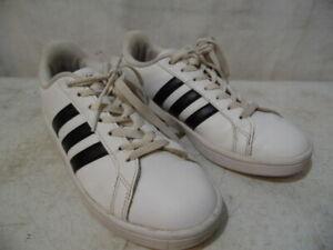 amazing price fast delivery to buy Détails sur Adidas Neo Femme Cloudfoam Mémoire Pied Lit Blanc Baskets  Chaussures Athlétisme
