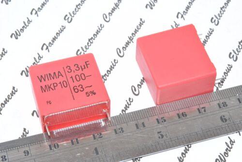 de 100 V 5/% Pitch:27.5 mm Capacitor 1pcs-Wima MKP10 3,3 uf 3,3 µf
