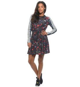 Adidas Originals Trefoil Moskau Dress Kleid Damen Shirt Top Flower Bunt Ebay