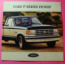 1988 FORD F-SERIES PICKUP SHOWROOM SALES BROCHURE..24 PAGES