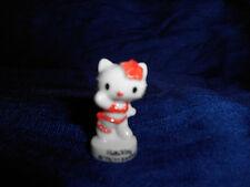 HELLO KITTY White BIKINI BATHING SUIT Mini Figure French Porcelain FEVES SANRIO