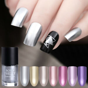 9ml-BORN-PRETTY-Metallic-Nail-Polish-Mirror-Nail-Art-Varnish-Rose-Gold-Chrome