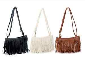 5137eff791bfd Das Bild wird geladen Handtasche-klein-Cowgirl-schwarz-Kunstleder-weiss- braun-Tasche-