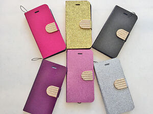 BLING-WALLET-FOLIO-CASE-credit-card-slots-glitter-cover-FOR-apple-iphone-6-4-7-034
