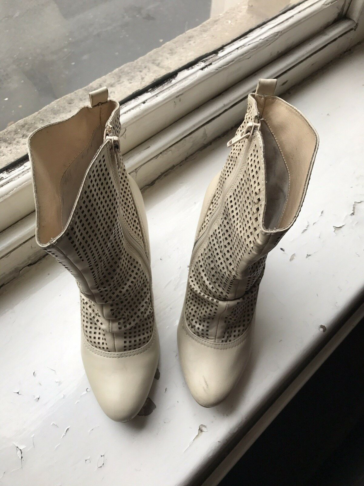 Beige Classy Funky Boots Pepe Jeans 38/5