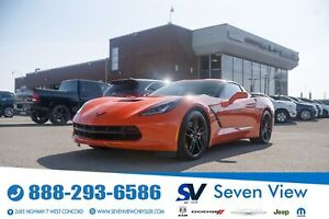 2019 Chevrolet Corvette Stingray Z51 NAVI/TECH PACKAGE ONLY 23,000 KM'S