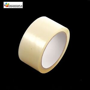36-ROLLS-OF-CLEAR-PACKING-PARCEL-TAPE-48mm-x-66M-2-034-SELLOTAPE