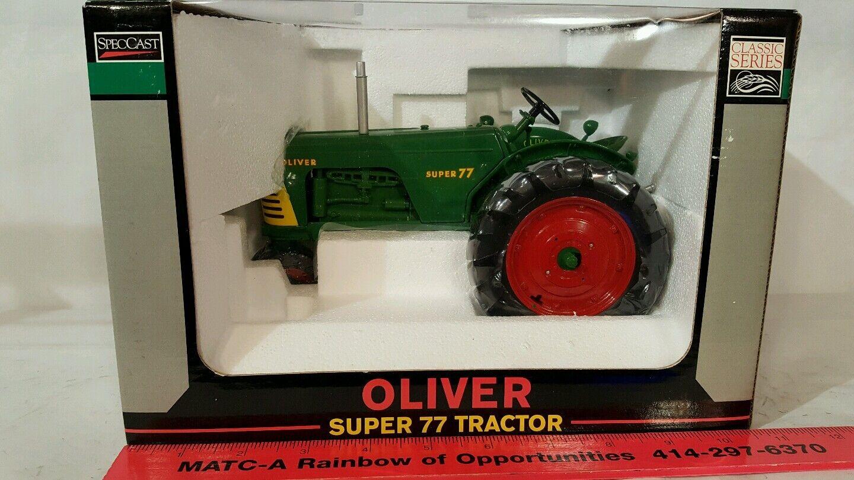 protezione post-vendita Oliver Super 77 1 16 diecast farm tractor tractor tractor replica collectible by Spec Cast  contatore genuino