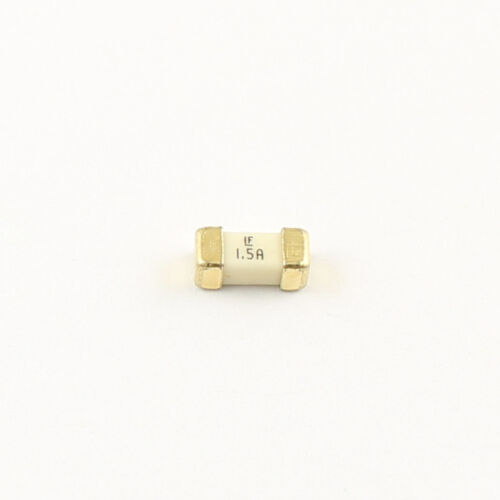 50Pcs Littelfuse Fast Acting SMD 1808 1.5A 125V Surface Mount Fuses