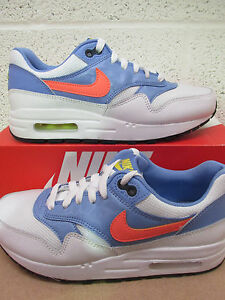 classic fit 112c6 9439f Image is loading Nike-air-max-1-GS-running-trainers-807605-