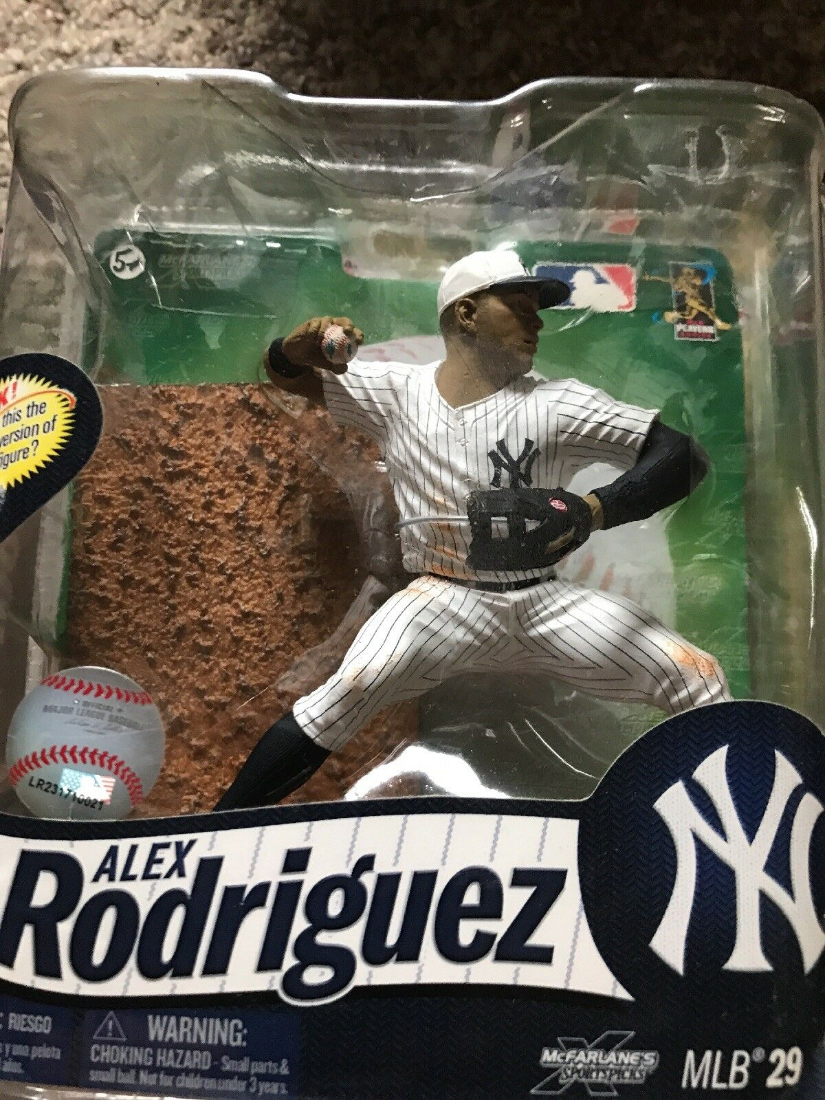 Mcfarlane ALEX RODRIGUEZ Chase Variant July 4th 4th 4th Yankees Hat Plus other figure 1f228c