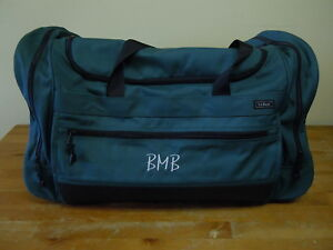 Excellent L L Bean Large Green Duffle Travel Luggage Weekender Bag Ebay Unemploymentrelief Wooden Chair Designs For Living Room Unemploymentrelieforg