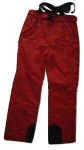 Trespass-Glasto-Ski-Pants-Russet-Red-Waterproof-2000mm-Windproof-Coldheat-Lined