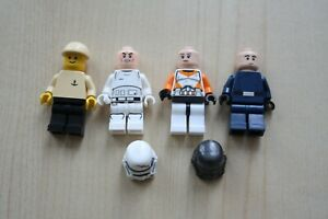 Lego-small-bundle-of-4x-figures-and-2x-Stormtrooper-Helmets