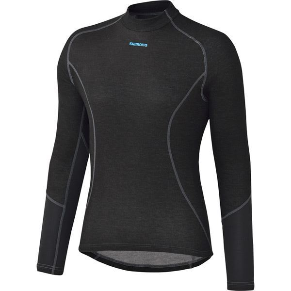 Shimano W 's Breath Hyper Baselayer, Nero, xLarge