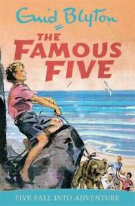 Famous-Five-9-Five-Fall-Into-Adventure-Blyton-Enid-Used-Excellent-Book