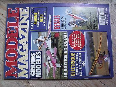 """$$ Revue Modèle Magazine N°521 Plan Encarté """"f-acil 2"""" Piaf 1500 Bat Army 40"""