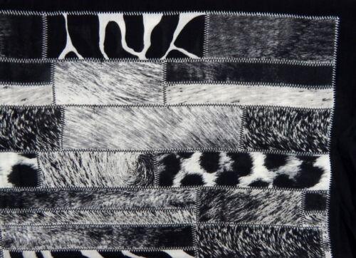 Loop Nero Grigio Ivory by Ella Jonte Animal Print scialle in cotone viscosa nuovo