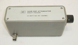 HP-Agilent-Keysight-VHF-Attenuator-0-5-Watt-50-Ohm-DC-1000-MHz-Free-S-amp-H