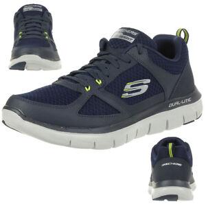Skech Skechers pour Lindman 2 Flex Advantage Bleu 0 Sneaker hommes Chaussures fitness de nYwxqrYHF
