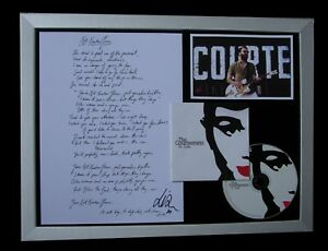 COURTEENERS-SIGNED-FRAMED-NOT-NINETEEN-ST-JUDE-100-AUTHENTIC-FAST-GLOBAL-SHIP