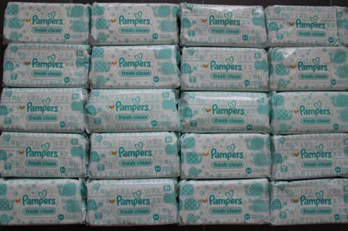 insgesamt 1920 Pflegetücher 30 x 64 Feuchttücher Pampers fresh clean