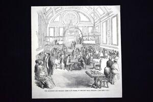 Club-di-lettura-e-di-scacchi-nella-nuova-sala-a-Berkshire-Incisione-del-1851