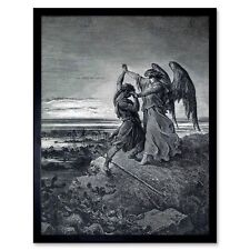 GUSTAVE DORE SHEPHERD WOLF OLD MASTER ART PAINTING PRINT POSTER 1212OMA