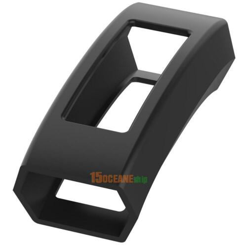 #ORP Black 1Pc Silicone Protective Case Frame Cover for Fitbit Alta//Alta HR