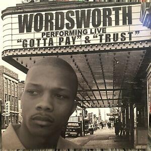 WORDSWORTH-GOTTA-PAY-TRUST-DONAE-12-034-2004-RARE-MIRROR-MUSIC